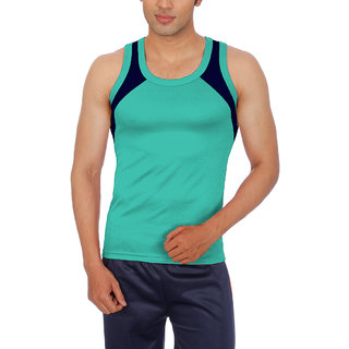 Sportee Mens Light Green  Vest
