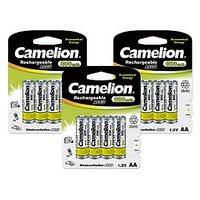 Camelion  NC-AA800BP4 *3 PACK  Rechargeable Battery