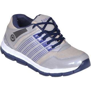 Sukun Grey Sport Shoes (SPT16001GRY)