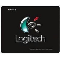 Logitech Mouse Pad Flat Mouse Pad, With Logitech Logo Gaming