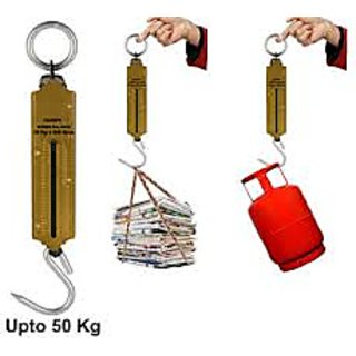 Handy Suspension Weighing Scale Machine   Upto 50 Kg Capacity available at ShopClues for Rs.140