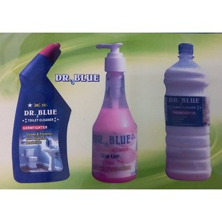 Combo Pack Toilet Cleaner + Hand Wash + Phenyle
