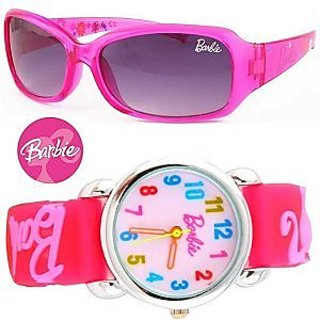 Barbie Limited Edition Sunglasses And Watch For Kids.