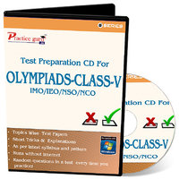 Test Preparation CD For Class 5 - Combo Pack (IMO / NSO / IEO / NCO)
