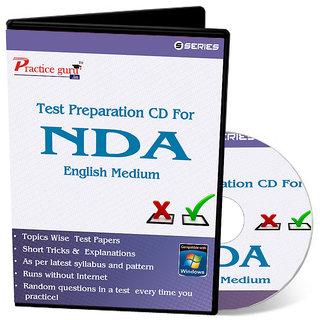 Test Preparation CD For NDA (English)