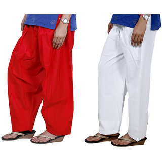 Indiweaves Women Cotton Semi-Patiala Salwar Set Of -2  7131771329-Iw