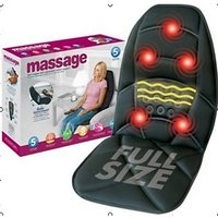 Car Seat Massager..Soothing Heat..Comfort Feel With Mattress For Car Seat