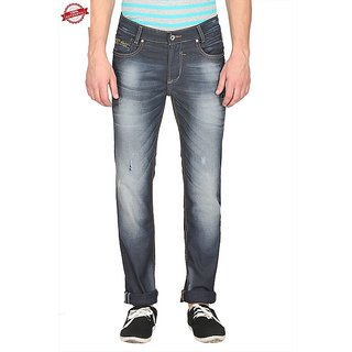 Mufti Mens Grey Narrow Fit Jeans