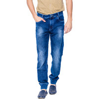 Mufti Mens Blue Slim Fit Jeans