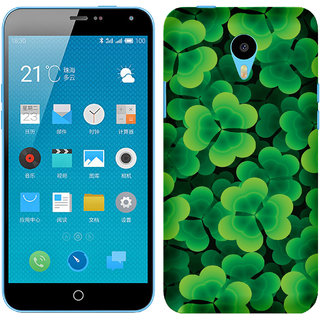 WOW Printed Back Cover Case for Meizu M1 Note