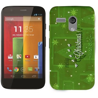 WOW Printed Back Cover Case for Motorola Moto G XT1033