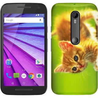 WOW Printed Back Cover Case for Motorola Moto G (3rd Gen)