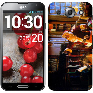 WOW Printed Back Cover Case for LG Optimus G Pro F240K