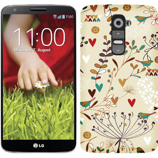 WOW Printed Back Cover Case for LG G2