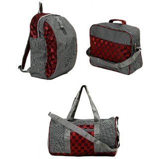 Urban Style Multicolor Casual Canvas Backpack