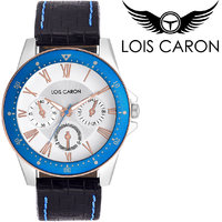 LCS-4096 White Dial Analog Watch For Men