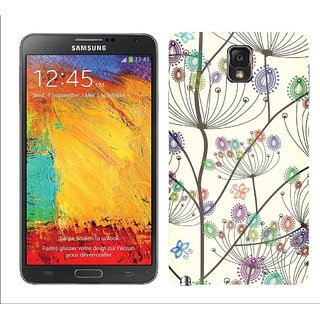 WOW Printed Back Cover Case for Samsung Galaxy Note 3