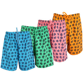 Weecare Graphic Bermuda Pack Of 4