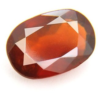 Jaipur Gemstone 7.00 carat Hessonite (Gomed) Natural Certified Stone