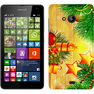 WOW Printed Back Cover Case for Microsoft Lumia 535
