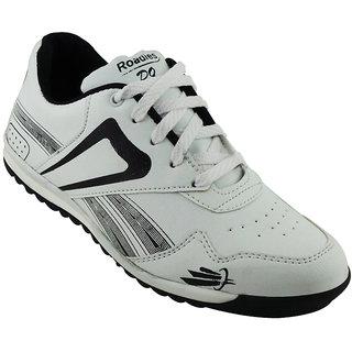 Elvace WhiteBlack Roadwalk Sports Men Shoes-8022
