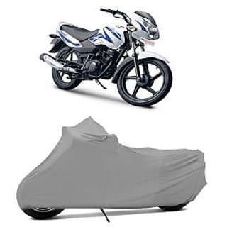 Superior Quality Bike Body Cover Silver Matte for TVS Sport