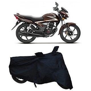 Superior Quality Bike Body Cover Black Colour for Honda Shine