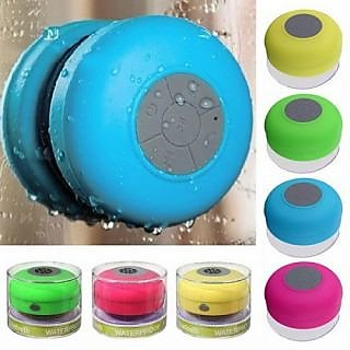 Prinkked  Waterproof Bluetooth Speaker With Suction Cup Mic