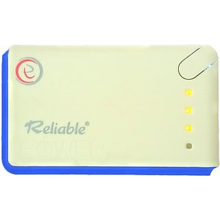 Reliable EK-RB-001 Reliable Power Bank with 2 Usb And Torch 13000 mAh
