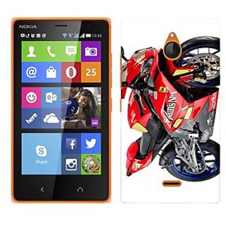 WOW Printed Back Cover Case for Nokia X2