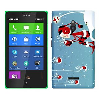 WOW Printed Back Cover Case for Nokia XL