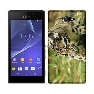 WOW Printed Back Cover Case for Sony Xperia M2