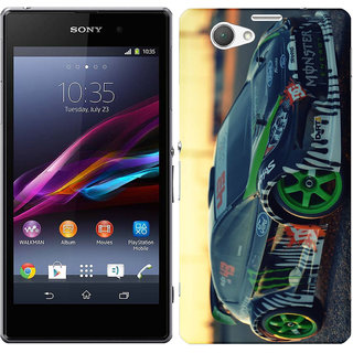 WOW Printed Back Cover Case for SONY Xperia  Z1