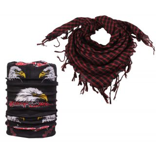 sushito Multi Purpose  14 In 1 Bandana With Scarf JSMFHHR0245-JSMFHMA0698