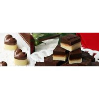 25 Pcs (250 GMS) HomeMade Black & White Chocolates In Assorted Shapes, 100% Veg