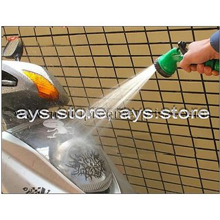 Spray Gun FOR Water HOSE water TUBE garden HOSE Car wash BIKE WASH PET available at ShopClues for Rs.149