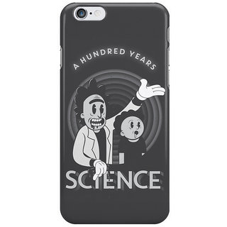 The Fappy Store A-Hundred-Years-Science Back Cover For Iphone 6 Plus