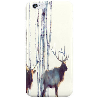 The Fappy Store Elk-Follow Back Cover For Iphone 6 Plus