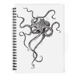 The Fappy Store Octopus Notebook