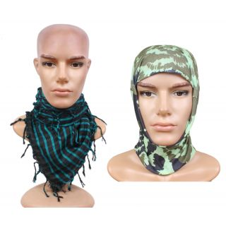 sushito Multi Functional 14 In 1 Bandana For Bikking With Scarf JSMFHHR0248-JSMFHMA0685