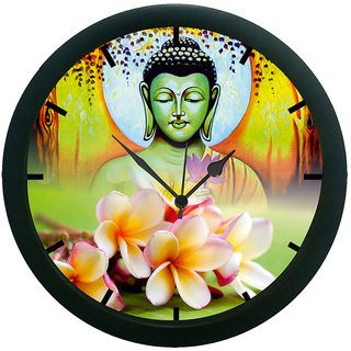 AE World Buddha Wall Clock (With Glass)