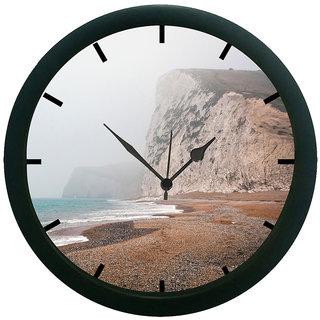 AE World Beach 3D Wall Clock (With Glass)