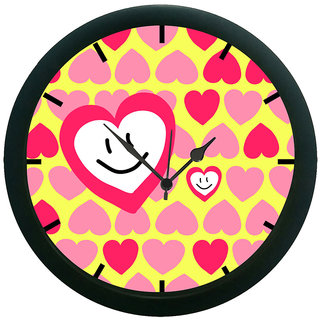 AE World Hearts Wall Clock (With Glass)