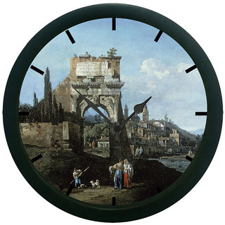 AE World Vintage Entry 3D Wall Clock (With Glass)
