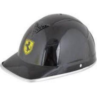 Fashno Stylist  Motorbike, scooter Black Half Helmet (FP-BLK-HLMT-11)