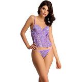 clovia purple polyamide spandex animal corsets cr0005p12o1