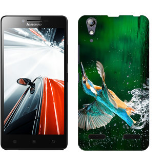 WOW Printed Back Cover Case for Lenovo A6000 Plus
