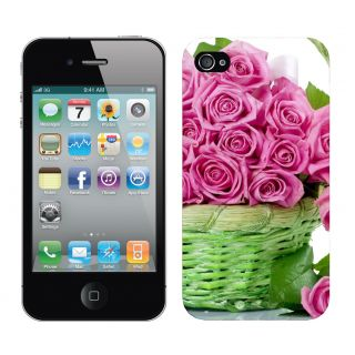 WOW Printed Back Cover Case for  Apple Iphone 4