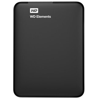 WD Elements Portable 1TB USB External Hard Drive