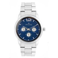 Swisstone ST-GR032-BLU-CH Blue Dial Stainless Steel Chain Watch For Men/Boys